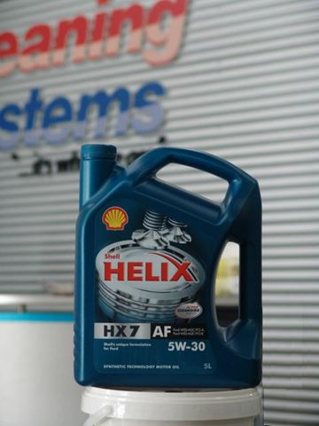 Hydramaster 187 Shell Helix 5w 30 Motor Oil 5l