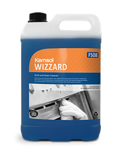 WIZZARD - Grill and Oven Cleaner