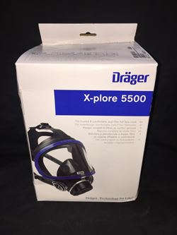 DRAGER FULL FACE MASK