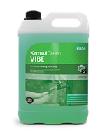 Vibe Perfumed Flowing Hand Soap - Kemsol Green