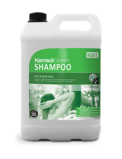 Shampoo - Hair & Bodywash - Kemsol Green