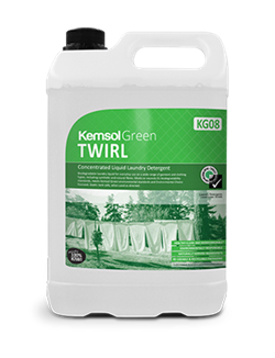 Twirl Concentrated Laundry Detergent - Kemsol Green