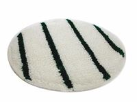 BONNET PAD QUEEN GREEN STRIPE 17""