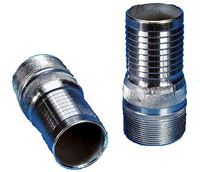 "BARBED METAL HOSE CONNECTOR 2"" (51mm)"